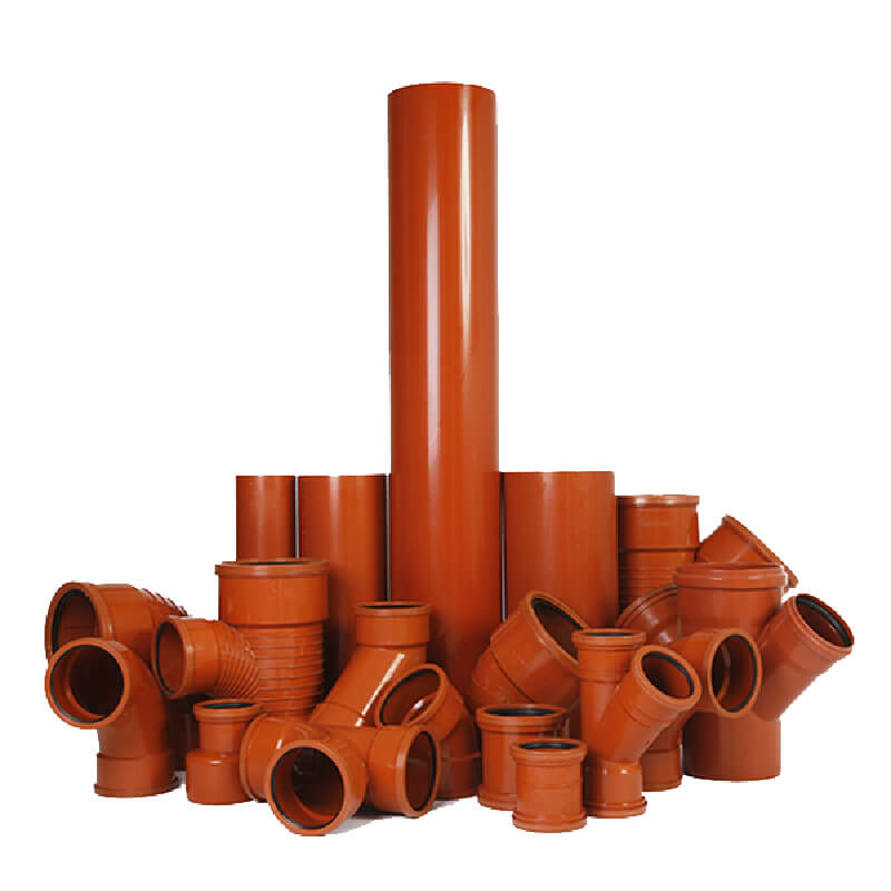 UPVC High Pressure Pipes & Fittings & HDPE Pipes